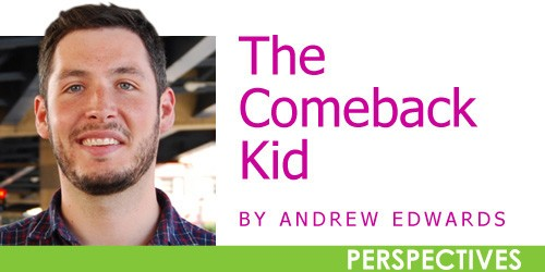 The Comeback Kid: March 2012