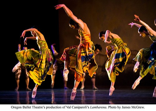 Oregon Ballet Theatre's Chromatic Quartet Opens Thursday