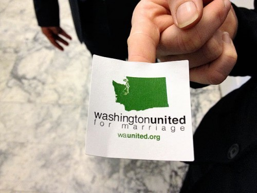 Gay marriage opponents ramp up efforts in Washington