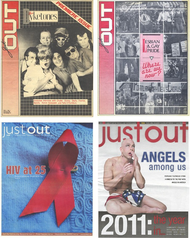 Queer Heroes NW: Renee LaChance, Jay Brown, and Marty Davis