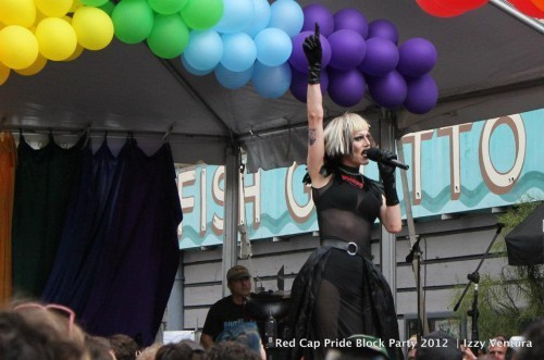 LGBTQ Activists Protest Sharon Needles, Accuse Performer of Racism and Transphobia