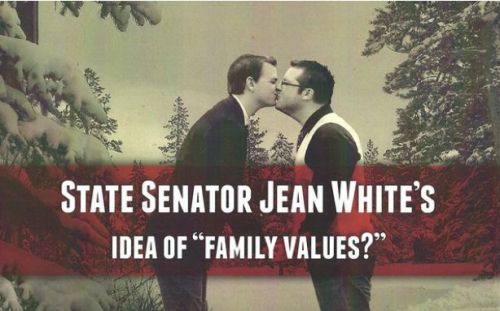Gay Married Couple Photoshopped into Anti-Gay Attack Ad