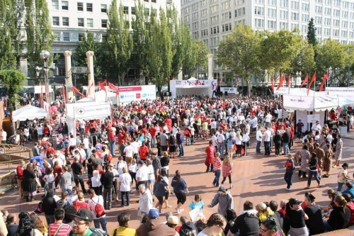 AIDS Walk Portland Raises More than $500,000 with Record Breaking Participation