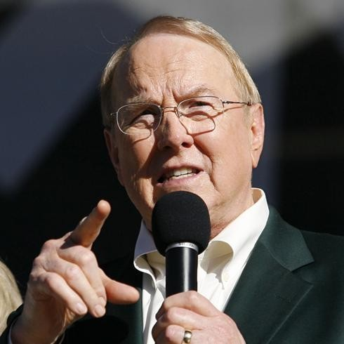 James Dobson Blames Gay Marriage for Connecticut Shooting