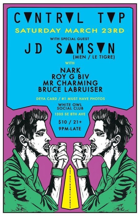 JD Samson and Seattle's DJ Nark--and More--This Weekend!