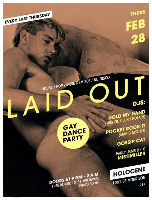 This Weekend: Laid Out Comes Out, Maricones Everywhere, and the Return of Bridge Club