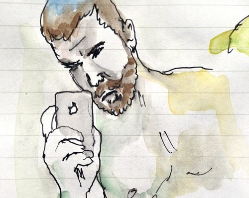 """Grindr Illustrated"" Turns Cruising Into High Art"