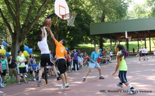 A Slam Dunk for Equality: Fifth Annual Women's Basketball Tourney Raises Funds and Spirits