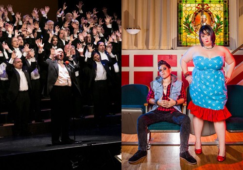 Pride Music Preview: Portland Gay Men's Chorus & God Des and She