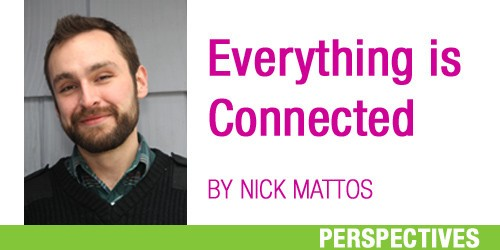 Everything is Connected: A mixed-up cat