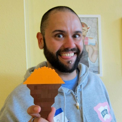 "Artist Pablo Cáceres Presents His ""Ice Cream Bears"" at Scandals Tomorrow"