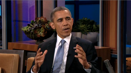 President Obama Addresses Russia's Anti-Gay Law on Jay Leno Show
