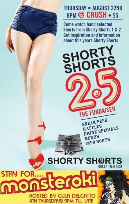 Your Weekend: Shorty Shorts 2.5, Temple Turns 1, Mattachine Social, & More!