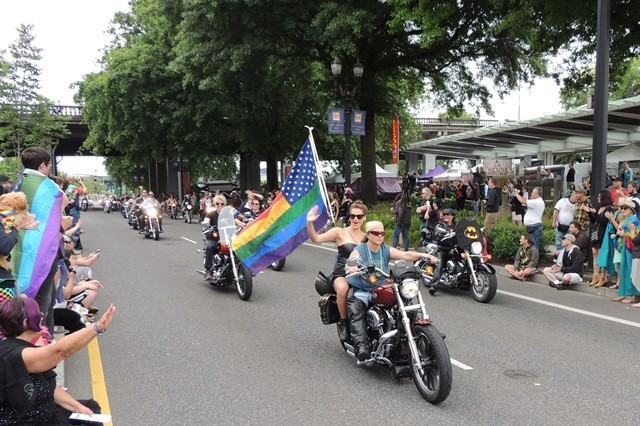 Should they all be dykes on those bikes?