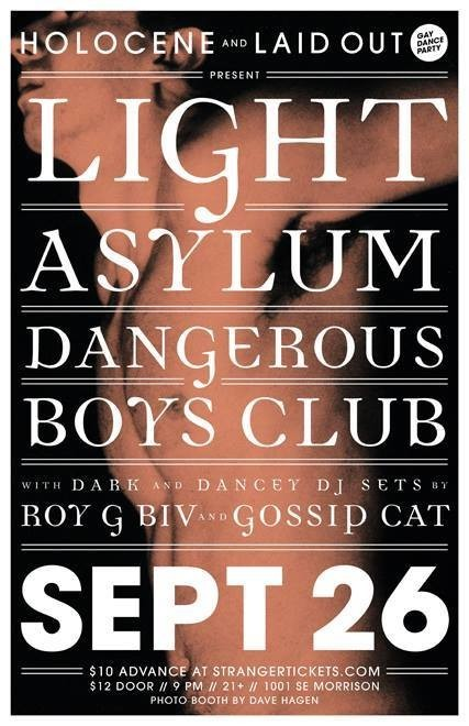 Light Asylum, Laid Out, Blow Pony--and More! Your Weekend.