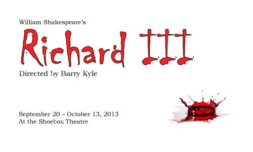 "Northwest Classical Theater Company's Deep, Dark ""Richard III"""