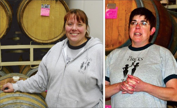 Hip Chicks bend a few traditions and come up with creative wines