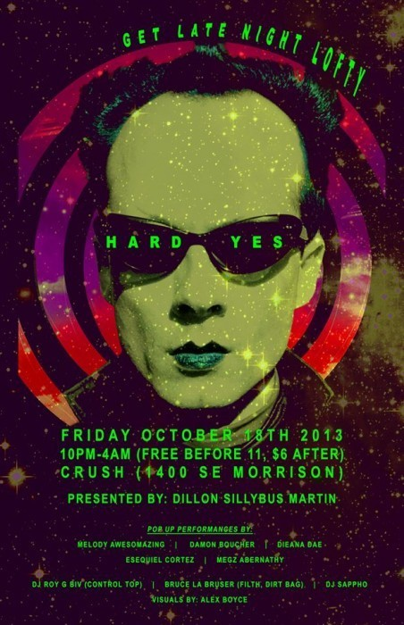 Your Weekend: Hard Yes, Zora's Rocky Horror, Dina Martina, Gaycation's Halloween--and Much More!