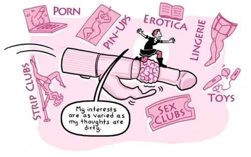 A Cartoon Guide to Sex Toys