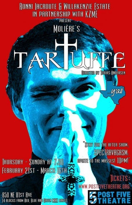 "White Male Landowner Blues: Post5 Theater's ""Tartuffe"""