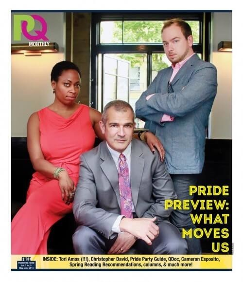 About Our Cover: a Word about Activism and Pride
