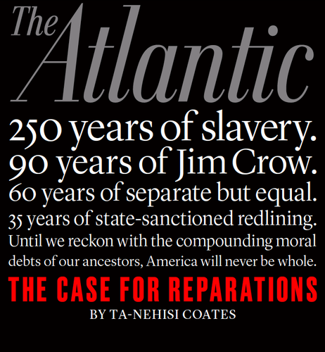 The Talk About Reparations