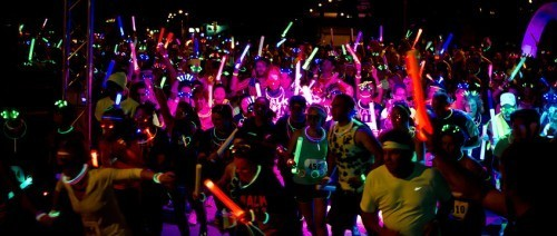 It's the Pride Glow Run!