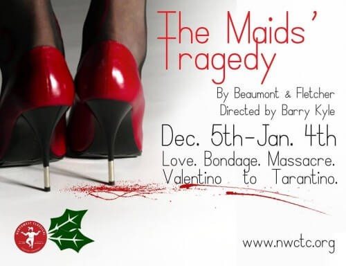 "Foul Plots Bring Foul Ends: ""The Maid's Tragedy"" at NWCTC"