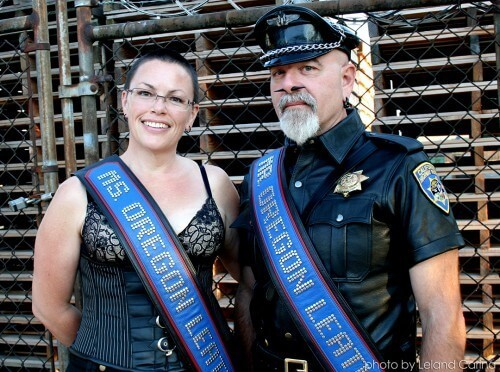 Shawna Clausen & Steven Steinbock named Ms. and Mr. Oregon State Leather Titleholders