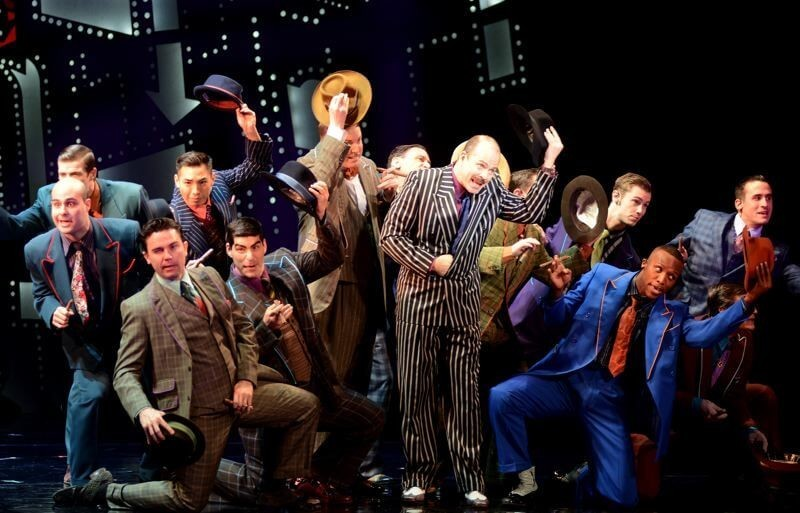 "Review: ""Guys and Dolls"" at the Keller Auditorium"