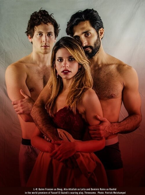 """Threesome"" at  Portland Center Stage"