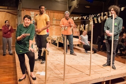 "An Ingenious Experience:  Portland Playhouse's ""How To  End Poverty in 90 Minutes"""