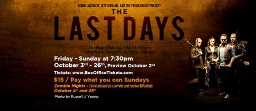 Post5's The Last Days: Immersive, Frightening Theater