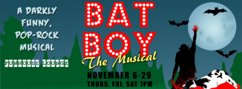 "A Satire with Bite:  ""Bat Boy: the Musical""  at the Funhouse Lounge"