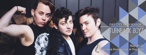 Turnback Boyz To Time Travel as Queer-Identified Boy Band