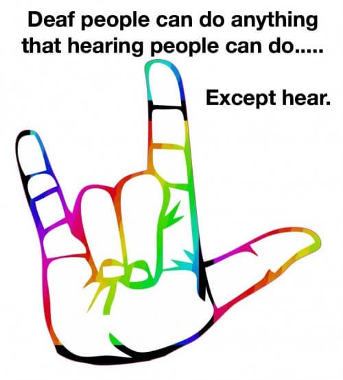 Being an Ally to the Deaf and HoH Community
