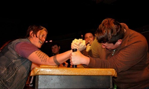 Get Pumped for the Third Annual 'Wrestling for Rock'--Women's Arm Wrestling Tournament!