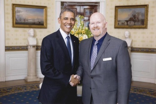 Openly Gay Oregon Educator Honored in Washington DC
