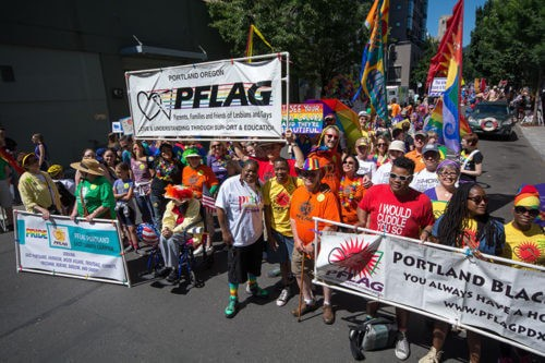 PFLAG PORTLAND HELPS BOTH LGBTQ PEOPLE AND THEIR FAMILIES