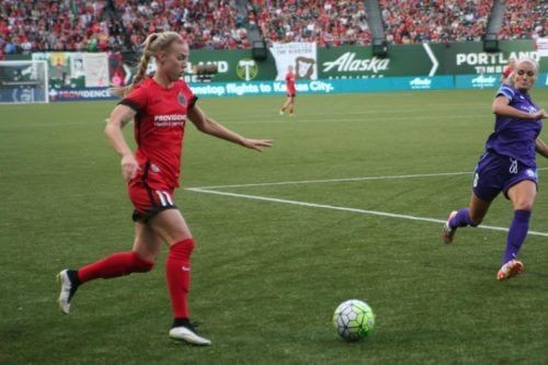 THORNS FC WIN 2-1 IN HOME SEASON  OPENER WITH RECORD ATTENDANCE!
