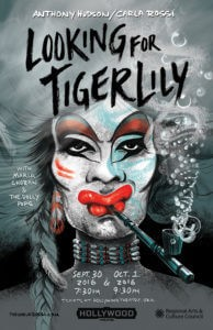 Looking for Tiger Lily, a pre-show interview with Anthony Hudson