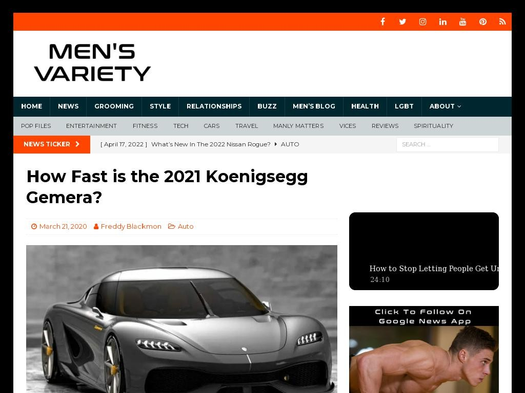 How Fast is the 2021 Koenigsegg Gemera?